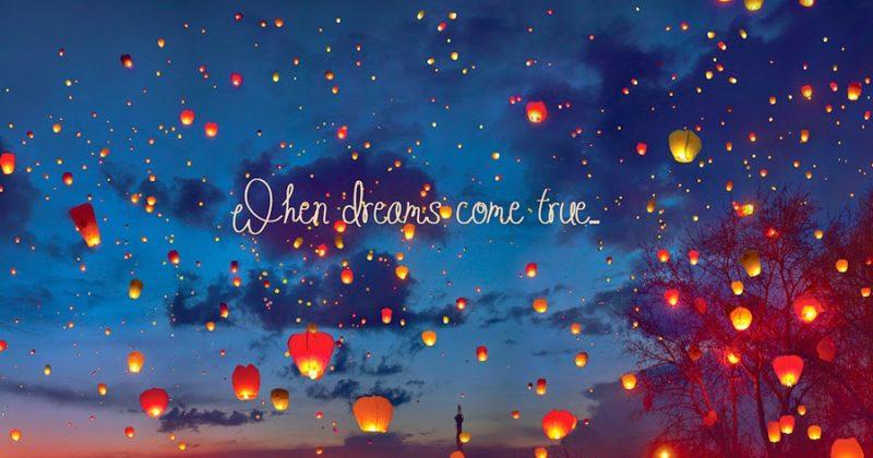 Mert van, hogy az álmok valóra válnak…